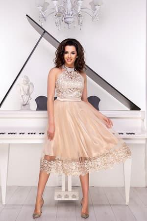 Коктейльное платье 9052e, фото 1