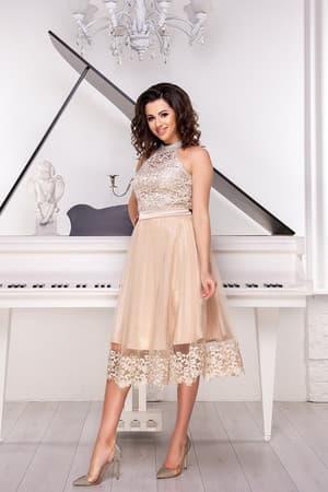 Коктейльное платье 9052e, фото 2