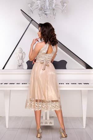 Коктейльное платье 9052e, фото 3