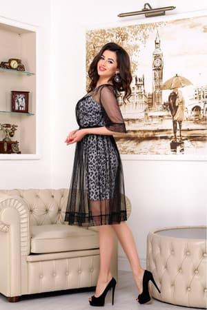Коктейльное платье 9080e, фото 3