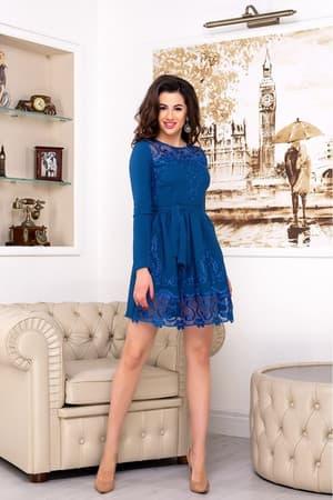 Повседневное платье 7237e, фото 3