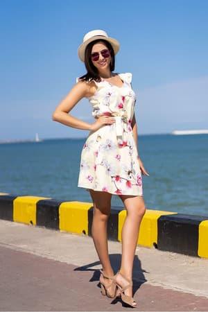Повседневное платье 9100e, фото 3