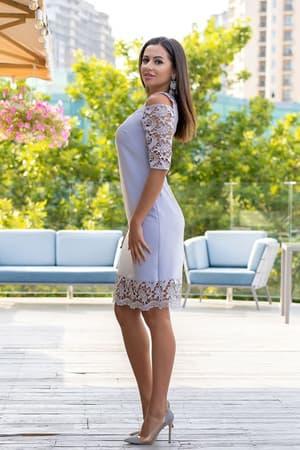 Коктейльное платье 9164e, фото 3