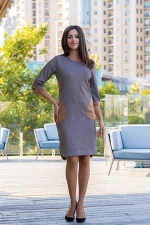 Повседневное платье 8142e, фото 1
