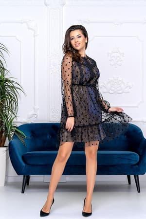 Коктейльное платье 9185e, фото 3