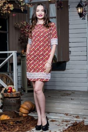 Повседневное платье 6188e, фото 1