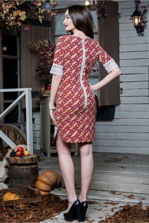 Повседневное платье 6188e, фото 2