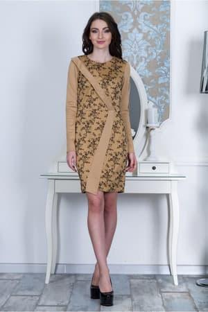 Повседневное платье 7224e, фото 1