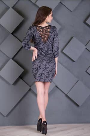 Повседневное платье 7233e, фото 2