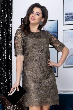 Коктейльное платье 9178e, фото 1