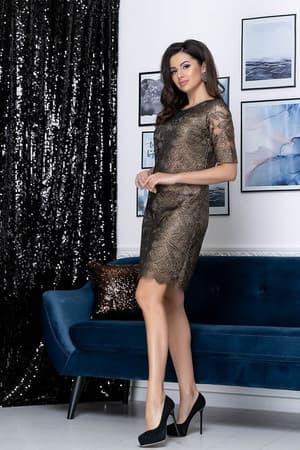 Коктейльное платье 9178e, фото 3