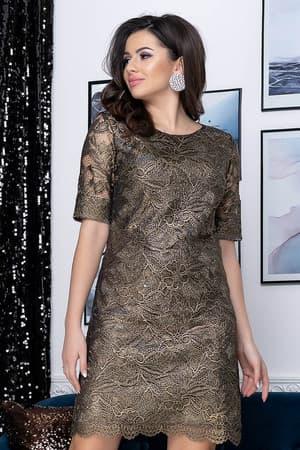 Коктейльное платье 9178e, фото 4