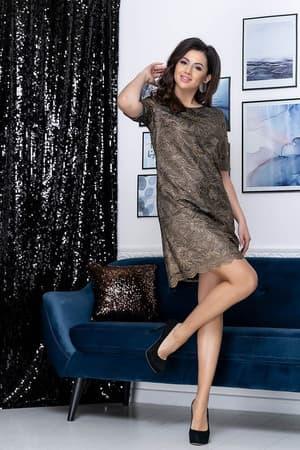 Коктейльное платье 9178e, фото 5