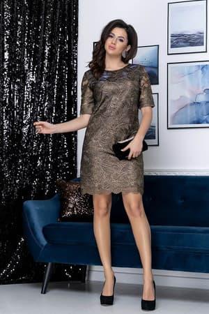 Коктейльное платье 9178e, фото 6