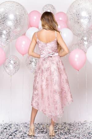 Коктейльное платье с асимметричной юбкой, фото 2