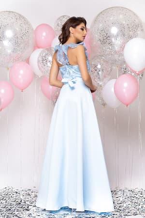 Вечернее платье с декором на плечах, фото 2