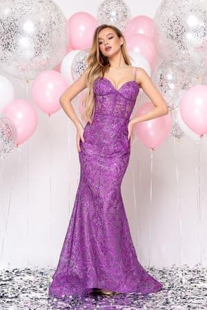 Вечернее платье русалка, фото 5