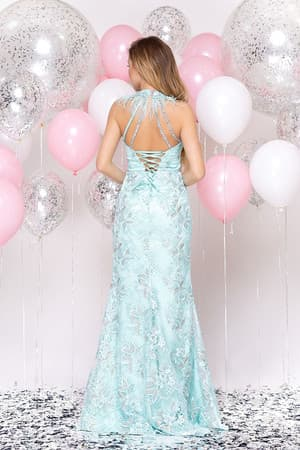 Вечернее платье с разрезом, фото 2