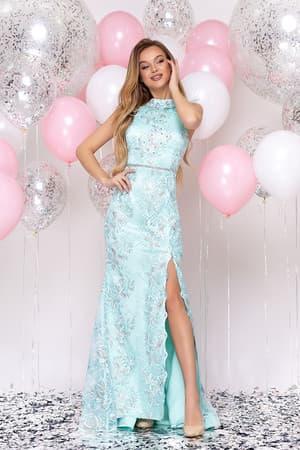 Вечернее платье с разрезом, фото 4