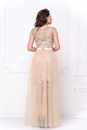 Коктейльное платье со съемной юбкой, фото 2
