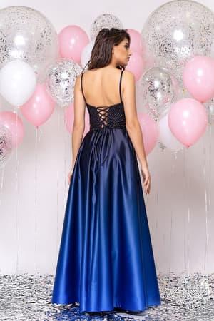 Вечернее платье со стразами на топе, фото 2