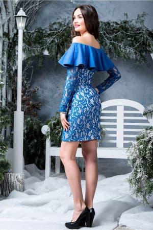Коктейльное платье 6283e, фото 2