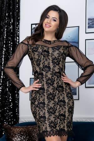 Коктейльное платье Люси, фото 1