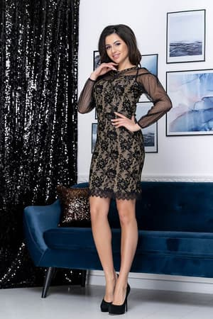 Коктейльное платье Люси, фото 3