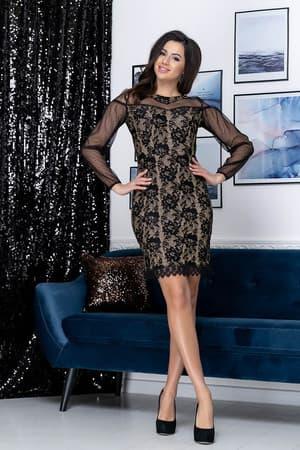 Коктейльное платье Люси, фото 5