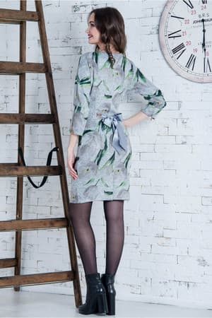 Повседневное платье 6212e, фото 2
