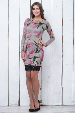 Повседневное платье 6214e, фото 1