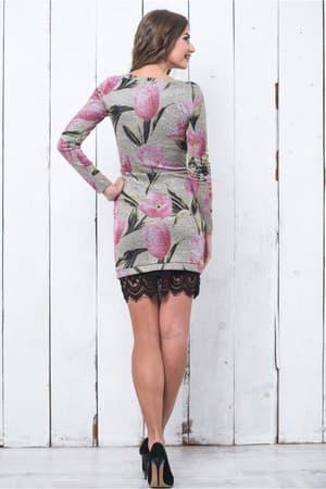 Повседневное платье 6214e, фото 2