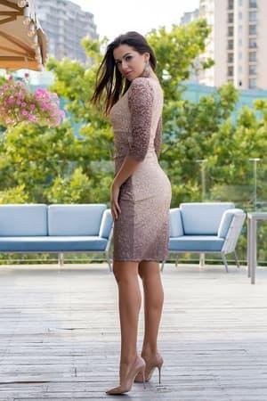 Коктейльное платье 9130e, фото 3