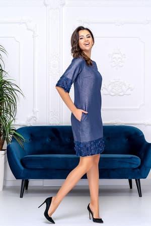 Коктейльное платье 9175e, фото 3