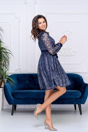 Коктейльное платье 9183e, фото 3