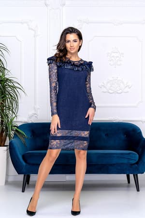 Коктейльное платье 9189e, фото 1