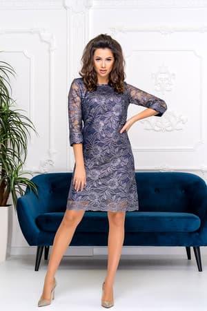 Коктейльное платье 9202e, фото 1