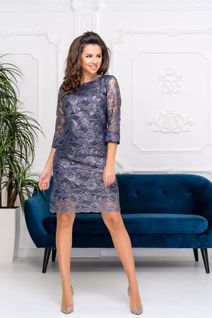 Коктейльное платье 9202e, фото 3