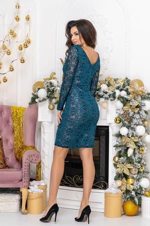 Коктейльное платье 9213e, фото 2