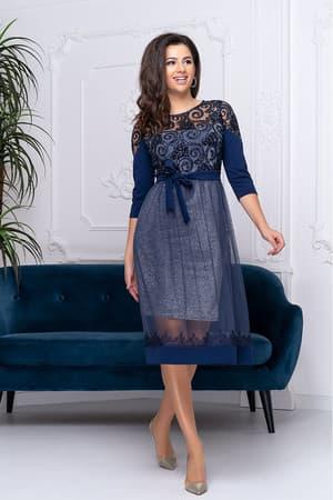 Коктейльное платье 9220e, фото 3