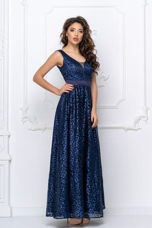 Вечернее платье с прозрачной спиной, фото 3