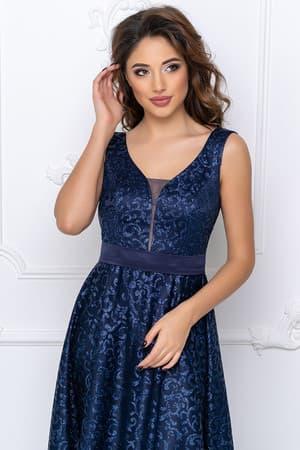 Вечернее платье с прозрачной спиной, фото 5