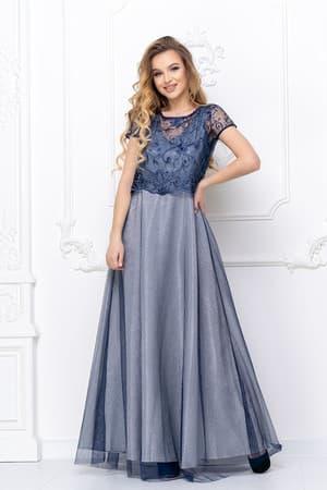 Вечернее платье со съемным топом, фото 1