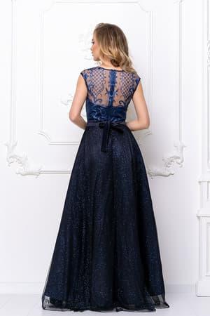 Вечернее платье с сияющими узорами, фото 2