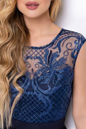 Вечернее платье с сияющими узорами, фото 5
