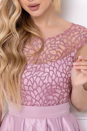 Коктейльное платье с нежным рисунком, фото 6