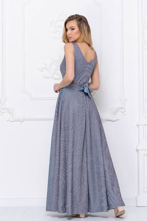 Вечернее платье из сверкающей ткани, фото 2