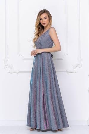 Вечернее платье из сверкающей ткани, фото 4