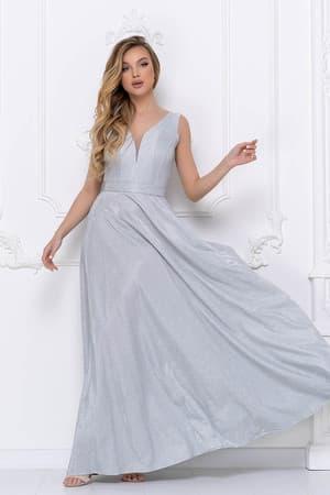 Вечернее платье из сверкающей ткани, фото 1