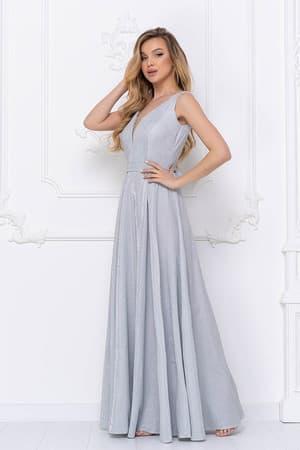 Вечернее платье из сверкающей ткани, фото 3